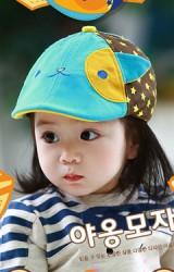 หมวกแฟลตแค๊ปแมวเหมียวตาซน สีสันสดใส Lemonkid