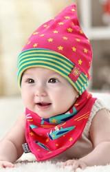 หมวกเด็กเล็กมาพร้อมผ้ากันเปื้อน รุ่นการเดินทางระหว่างดวงดาว GZMM