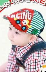 หมวกแฟล็ตแค็ปลายรถแข่ง RACING หมวกเท่ๆ แบรนด์ TUTUYA