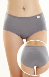 กางเกงในอนามัย มีผ้าซับยาวจากเป้าถึงด้านหลัง