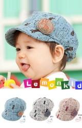 หมวกเด็ก Lemonkid สกรีนรูปการ์ตูนแมว