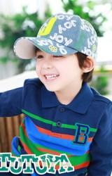 หมวแก๊ปสกรีน JOY ด้านหน้าแต่งอักษร J จาก TUTUYA