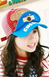 หมวกแก๊ปเด็ก TAKE A PHOTO แต่งรูปลิง TUTUYA