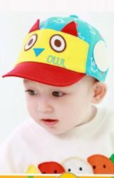 หมวกแก๊ปนกฮูกสีสันสดใส จาก TUTUYA
