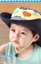หมวกคาวบอยลายหัวใจ สไตล์เกาหลี จากแบรนด์ GZMM