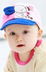 หมวกแก๊ปแต่งกระต่าย หน้าหมวกปัก my Bunny จาก TUTUYA