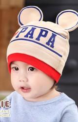 หมวก I love PAPA แต่งหูมิกกี้ จาก GZMM