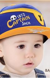 หมวกแก๊ปปีกแบนโจรสลัด Captain Jack จาก DANDYBEBE