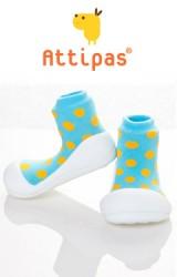 Attipas รองเท้าเด็กหัดเดิน - Polka Sky