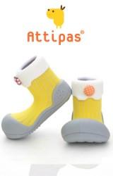 Attipas รองเท้าเด็กหัดเดิน - lollipop Yellow