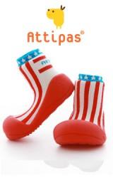 Attipas รองเท้าเด็กหัดเดิน - Littlestar Red