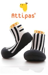 Attipas รองเท้าเด็กหัดเดิน - Littlestar Black