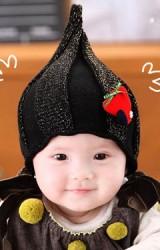 หมวกเอลฟ์ ปลายหมวกแหลม แต่งกิ๊ปต้นคริสมาสต์สีแดง GZMM