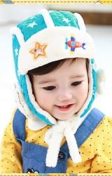 หมวกนักบินแต่งข้างหูรูปดาว จาก Lemonkid