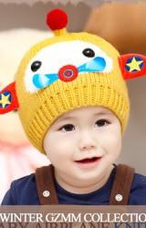 หมวกไหมพรมเด็กเครื่องบินเล็ก จาก GZMM