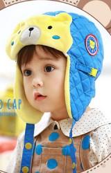 หมวกนักบินหน้าหมีน้อย Lemonkid