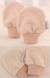 ถุงมือเด็กเล็ก ผลิตจากผ้าฝ้ายอินทรีย์