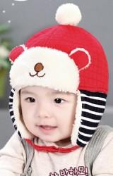 หมวกกันหนาวรูปหมี ดีไซส์น่ารัก จาก GZMM