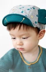 หมวกแก๊ปเด็กลายรูปช้าง แต่งหูน่ารัก