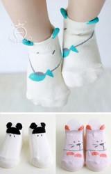 ถุงเท้าเด็กแต่งหูน่ารักๆ มีกันลื่น