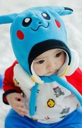 หมวกเด็ก Pikachu ปิกาจู ยี่ห้อ lemonkid
