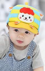 หมวกแก๊ปเด็กแต่งรูปแกะน้อยน่ารัก   จาก GZMM