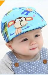 หมวกแฟล็ตแค็ปแต่งรูปลิง  จาก GZMM