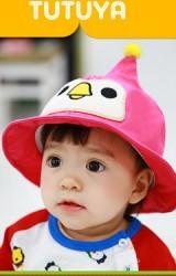 หมวกปีกรอบหน้าเพนกวินปลายหมวกแหลม จาก TUTUYA