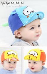 หมวกแก๊ปการ์ตูนหมีโคอาล่า แต่งหางน่ารัก  จาก GZMM