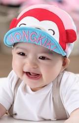หมวกแก๊ปลิง ปีกหมวกปัก MONGKIKI จาก dandybebe