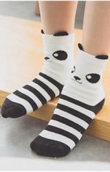 ถุงเท้าเด็กลายแพนด้า แบบสั้น