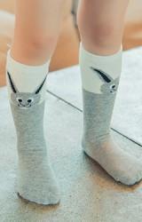 ถุงเท้าเด็กแบบยาวลายกระต่ายหูยาว