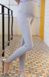 กางเกงเลคกิ้งคนท้องขายาวแบบเรียบๆ