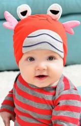 หมวกบีนนี่เด็กเล็กรูปการ์ตูนปู