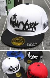 หมวกฮิปฮอปแต่งอักษร New York