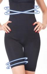 กางเกงกระชับหน้าท้องแบบเอวสูงขาสั้น