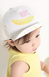 หมวกแก๊ปเด็กลายกล้วย สกรีนอักษร RIPE
