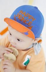 หมวกแก๊ปเด็ก ปักอักษร HAPPY PRINCE