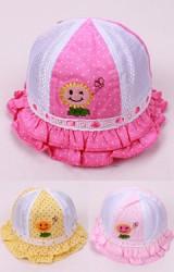 หมวกสาวน้อยปักดอกทานตะวัน