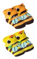 ถุงเท้าเด็ก แพ็ค 2 คู่ ลายผึ้ง