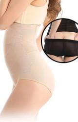 กางเกงในกระชับหน้าท้องแบบเอวสูง  เปิดด้านหลังได้