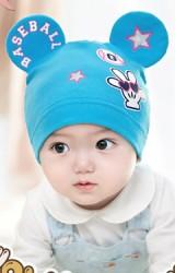 หมวกเด็กแต่งหูมิกกี้สกรีน BASEBALL จาก GZMM