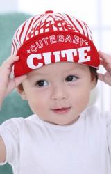 หมวกแก๊ปลายทาง  ปักดาวและอักษร cute
