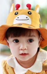 หมวกยีราฟ หมวกเด็กปีกรอบ จาก TUTUYA