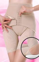 กางเกงหลังคลอดแบบมีขา มีตะขอล็อกเอวเล็ก