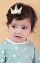 กิ๊บเด็กมงกุฏแบบนูนสีบรอนซ์ จาก  Angel Neitiri