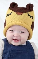 หมวกไหมพรมนกฮูก ดีไซส์น่ารัก