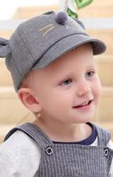 หมวกเด็กหน้าหนูน้อยแต่งหูน่ารัก