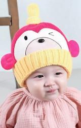 หมวกไหมพรมลิงจ๋อ ดีไซน์น่ารัก จาก mofababi