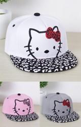 หมวกแก๊ปคิตตี้ หมวกฮิปฮอปน่ารักสำหรับสาวน้อย